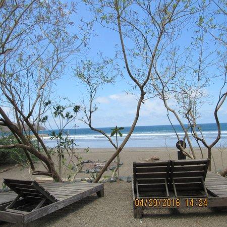 Eco Venao: Chegando na praia.