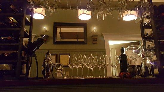 Glass Onion bar.