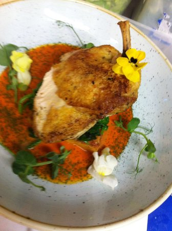Didcot, UK: Free range chicken