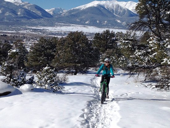 Buena Vista, CO: Fat bike rental from Boneshaker Cycles