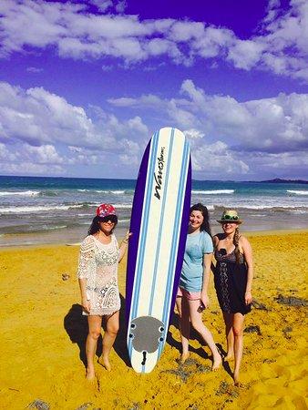 East Island Surfing Adventures: Sun under the sun!