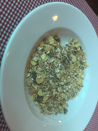 Bread Of Life: American breakfast and muesli without milk??!!!