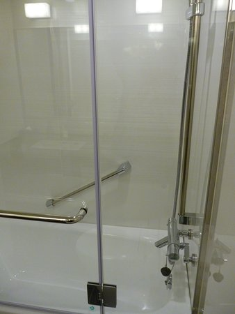 Combined shower / bath