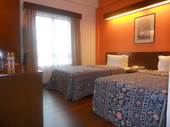 picture of Twin Bed room in The Aston Hotel,Nilai. the picture was taken at march 2017