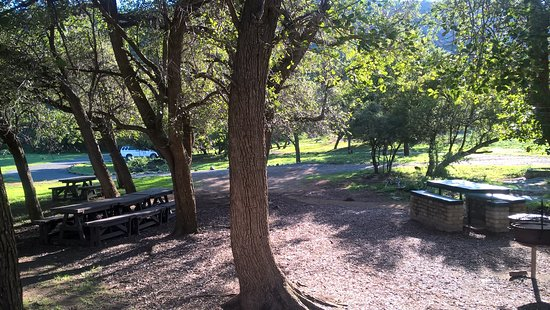 Cradock, Sydafrika: Picnic site in the Moutain Zebra National Park