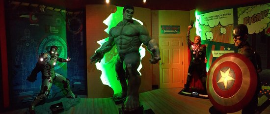 Louis Tussaud's Waxworks: A room full of power. Literally!
