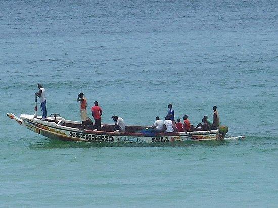 Sandaga: les pecheurs de crevettes