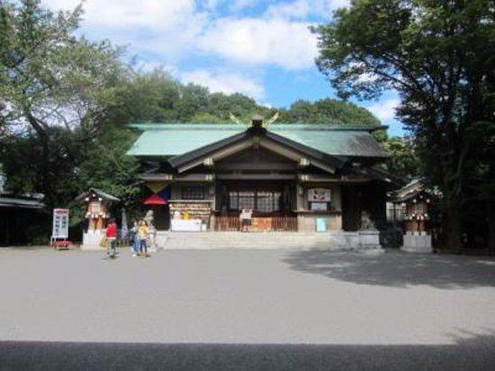 Togo Shrine: 本殿の様子