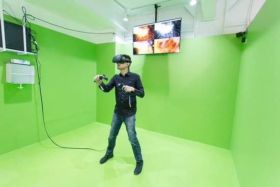 VR1 -Thonglor Virtual Reality cafe Bangkok
