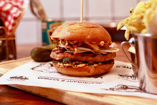 Buikspek Burger Picture Of Firma Pickles Burgers Wines