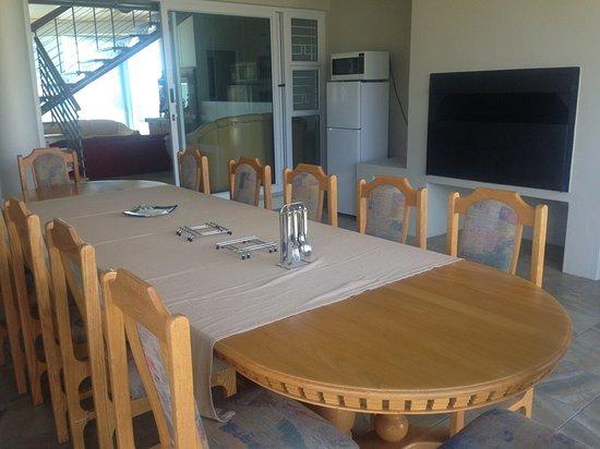 Pringle Bay, South Africa: The braairoom ( barbeque room) in Belle Mer Guest Room.