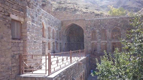 East Azerbaijan Province, Iran: backyard of Saint Stepanos Monastery