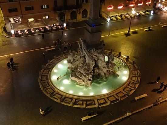 Vista Su Piazza Navona Foto Di Terrazza Borromini Roma