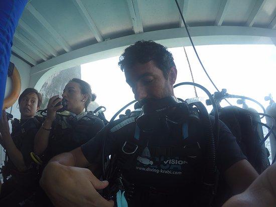 Aqua Vision Scuba Diving : Very professional diving team