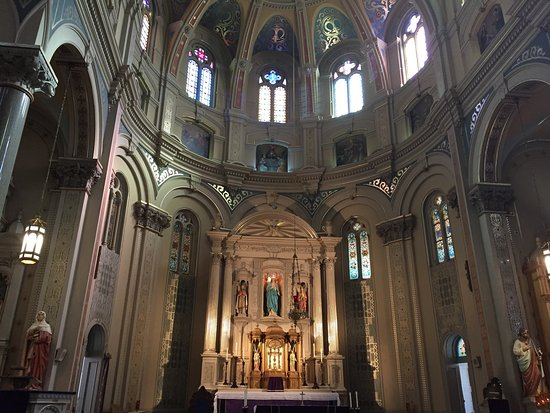 Old St. Mary's Church: Inside the beautiful Old St. Mary's Catholic Church