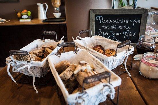 Blanquefort, France: Petit déjeuner