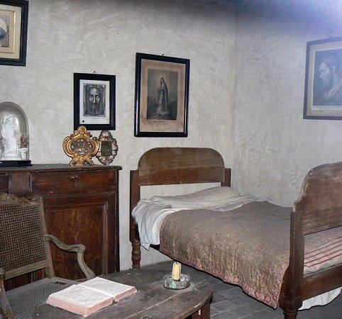 La chambre à coucher du saint curé