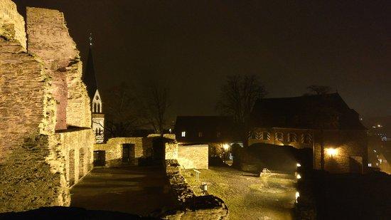 Kastellaun, Germany: selbst im Dunkeln schöner Blick