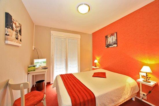 Hotel de Bretagne : chambre double coté mer