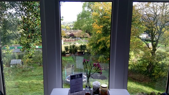 Cononley, UK: View from dining room
