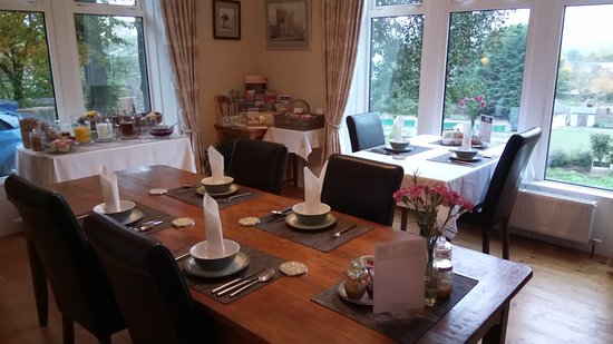 Cononley, UK: Dining Room