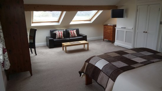 Cononley, UK: Large double room