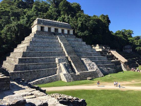 National Park of Palenque: piramide re Pakal