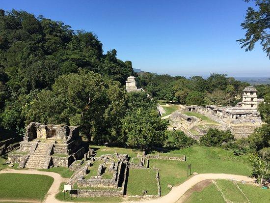 National Park of Palenque: panorama dall'alto