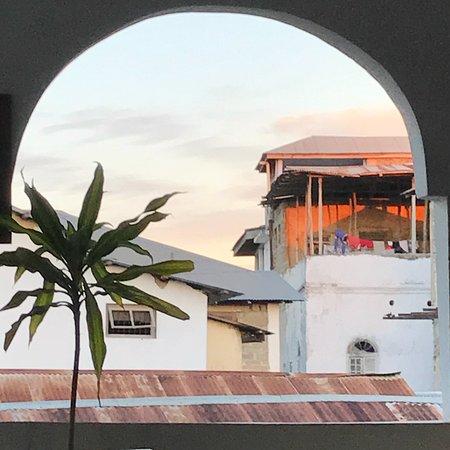 Kiponda B&B: View roof terrace