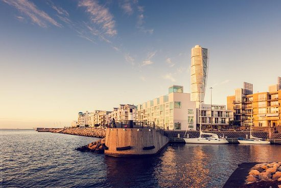 Malmö, Sverige: Western Harbour and Turning Torso