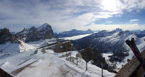 Lagazuoi: Panorama dalla vetta