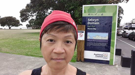 Auckland Domain: Selwyn domain park at Mission bay