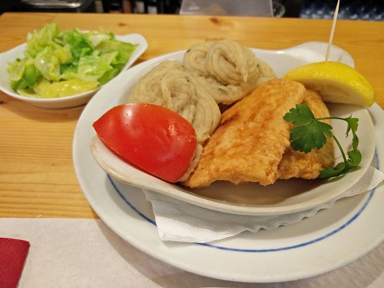 Restaurante Pombeiro: Filetes de pescada com puré à chef