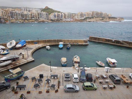 Calypso Hotel: Bucht von Marsalforn