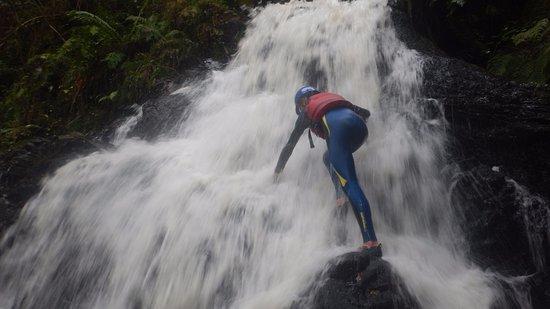 Argentat, Frankrike: cascades de la Vierge