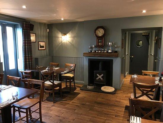 Elie, UK: Ground floor restaurant