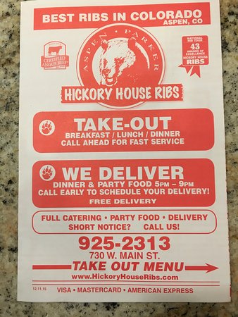 Photo of American Restaurant Hickory House at 730 W Main St, Aspen, CO 81611, United States
