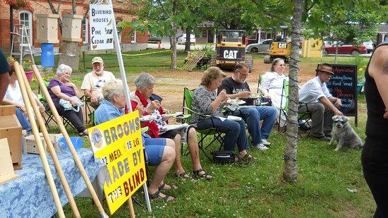 Hayesville Evening Farmers Market: Local organizations