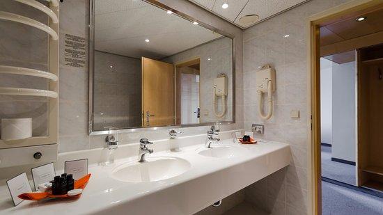 Bobycentrum Hotel: Koupelna prezidentský apartmán