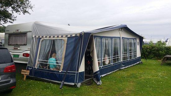 Stouby, Danmark: Rented camper