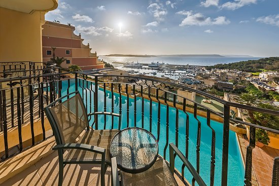 Grand Hotel Gozo: Superior Seaview with Balcony