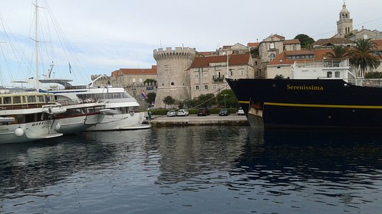 Korcula, Chorwacja: vieille ville