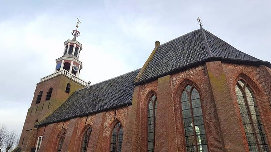Pieterburen, The Netherlands: de kerk