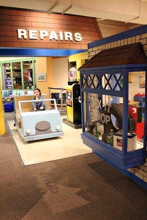 Gas Station And Repair Shop Picture Of Cincinnati Museum Center Mesmerizing Furniture Repair Cincinnati Design