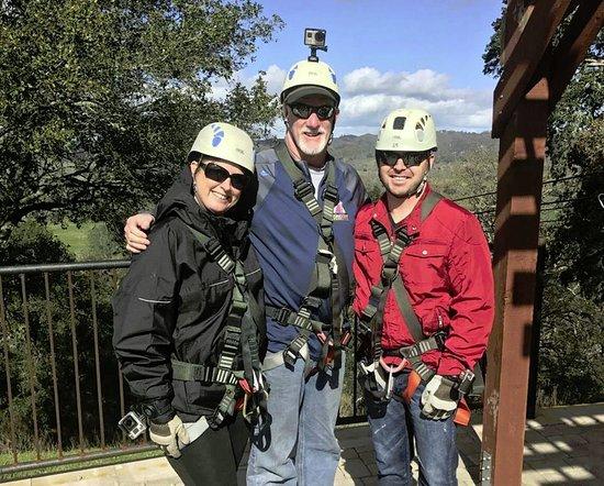 Santa Margarita, CA: An Amazing Day Ziplining!