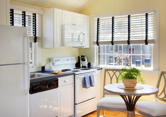 Full Kitchens at The Cottages at Nantucket Boat Basin