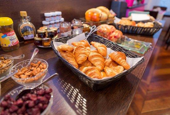 Hôtel de l'Europe : le Délicieux petit déjeuner