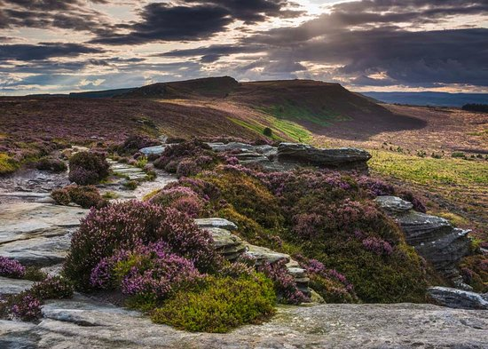 The Simonside Hills in the Northumberland National Park