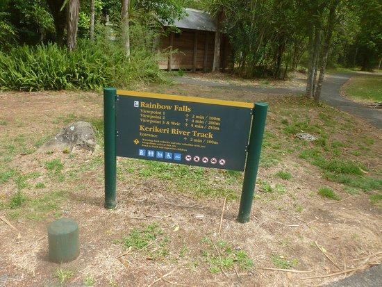 Kerikeri, New Zealand: Rainbow Falls Walk