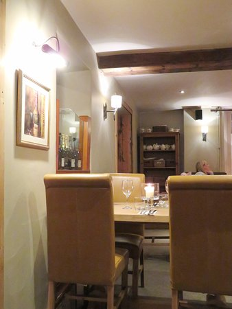 Dining room at The Bell Old Sodbury (03/Mar/17).
